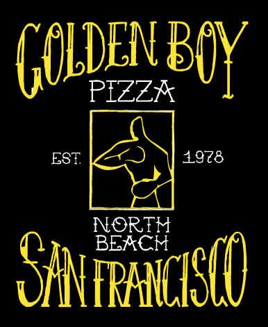 Golden Boy Centered Logo